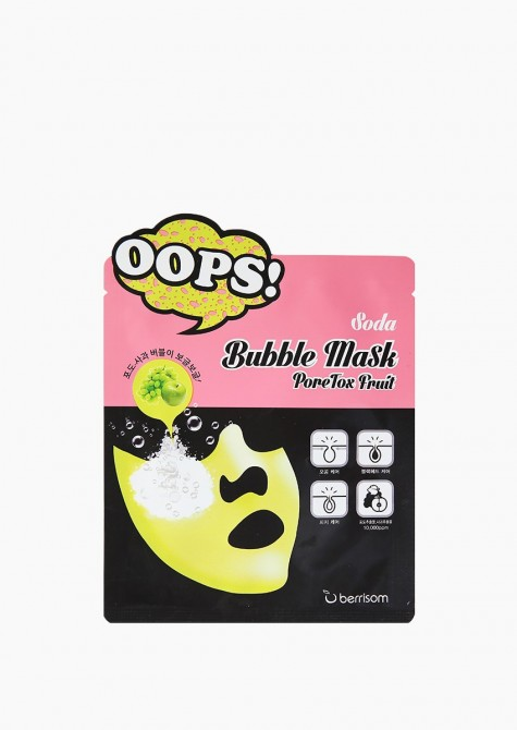 PORETOX FRUIT SODA BUBBLE MASK
