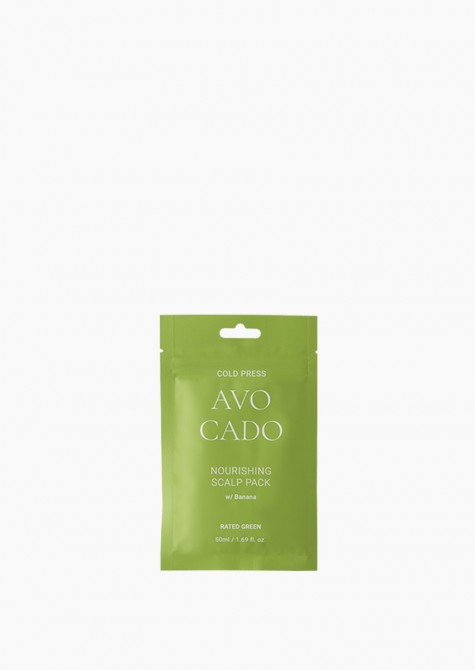 Cold Press Avocado Nourishing Scalp Pack